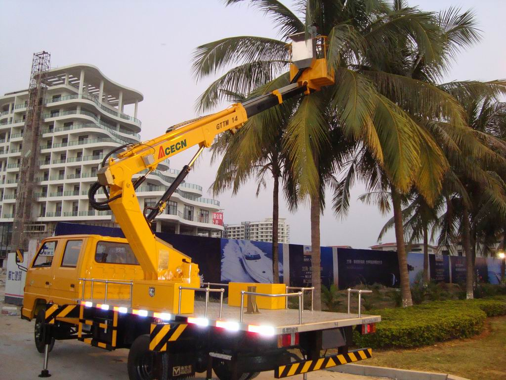 Truck Mounted Boom for Fuqing Electricity Bureau