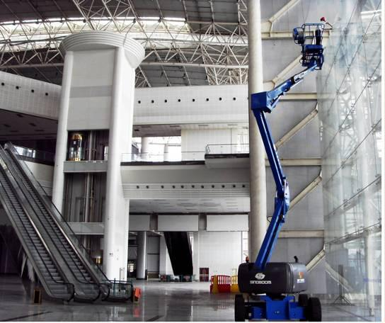 Truck Mounted Boom for Stadiums Maintenance